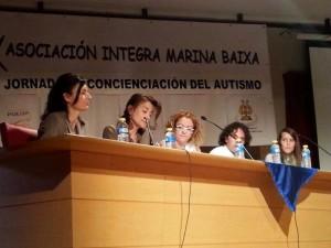 Jornada sobre autismo TGD/TEA INTEGRA. 5 de Abril 2014